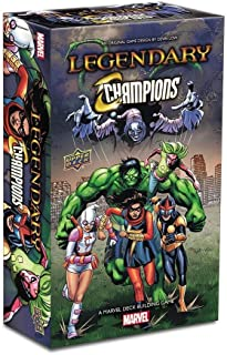 Upper Deck Legendary: A Marvel Deck Building Game: Legendary Champions Expansion, Multi