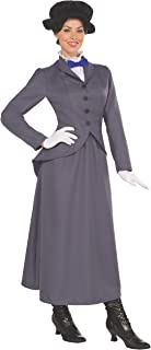 Women's English Nanny Costume