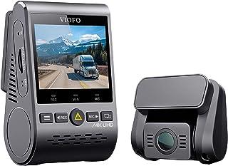 VIOFO A129Pro Duo 4K Dual Dash Cam 3840 x 2160P Ultra HD 4K Front and 1080P Rear Car WiFi Dash Camera Sony 8MP Sensor GPS,...