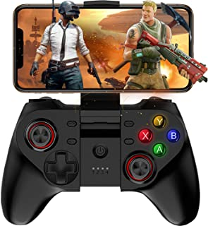 Mobile Game Controller, Megadream Wireless Key Mapping Gamepad Joystick Perfect for PUBG & Fotnite & More, Compatible for iOS Android iPhone iPad Samsung Galaxy Other Phone & Tablet PC – Direct Play