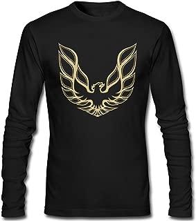 Mens Pontiac Firebird Logo GTA Trans Am Retro Long Sleeve T Shirt