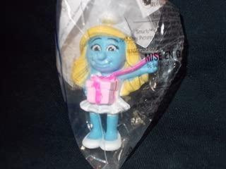 Mcdonalds the Smurfs 2 Smurfette's Birthday Happy Meal Toy 2013 #13 NIP
