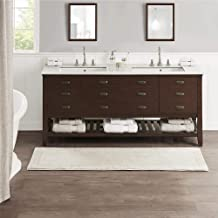 MADISON PARK SIGNATURE Cotton Tufted Reversible Bath Rug with Mink MPS72-449