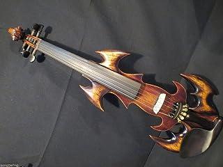 NING-MENG Violín/metálico o equipada/Cadena acero/Bow/principiantes/Los amantes de la Música/madera maciza/Instrumento/Handmade