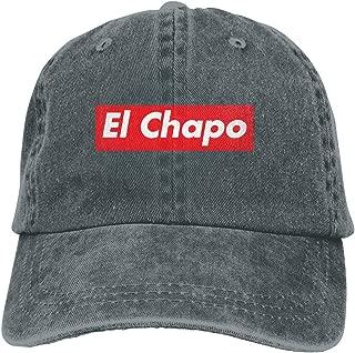 El Chapo Supreme Unisex Adult Cowboy Hats Classic Baseball Cap Denim Hats Dad Hat