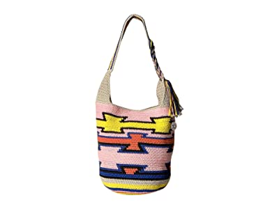 The Sak 30 Year 120 Hobo (Pink Multi Ragam) Hobo Handbags
