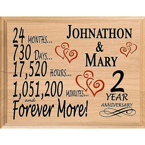 3 Wedding Anniversary Gift: 2 Yr Anniversary Gift: Amazon.com
