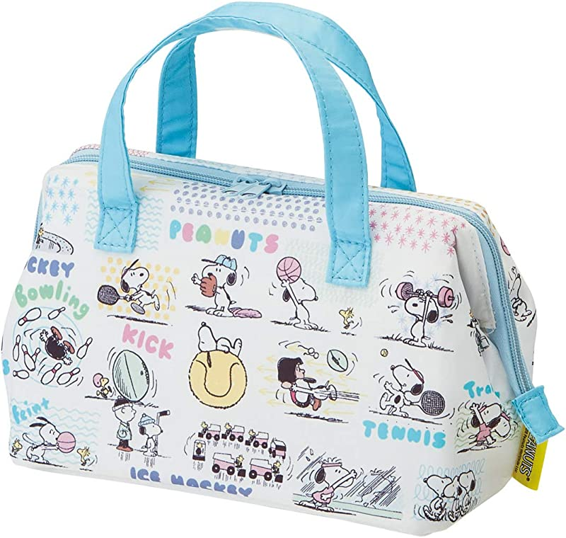 Skater Cold Insulated Lunch Bag Moomin Snoopy PEANUTS We Love Sports 22 11 5 16cm KGA1