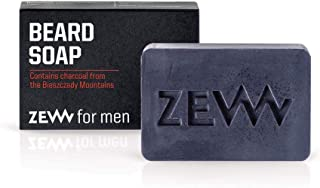 Zew For Men Natural Beard Soap With Activated Carbon 85ml
