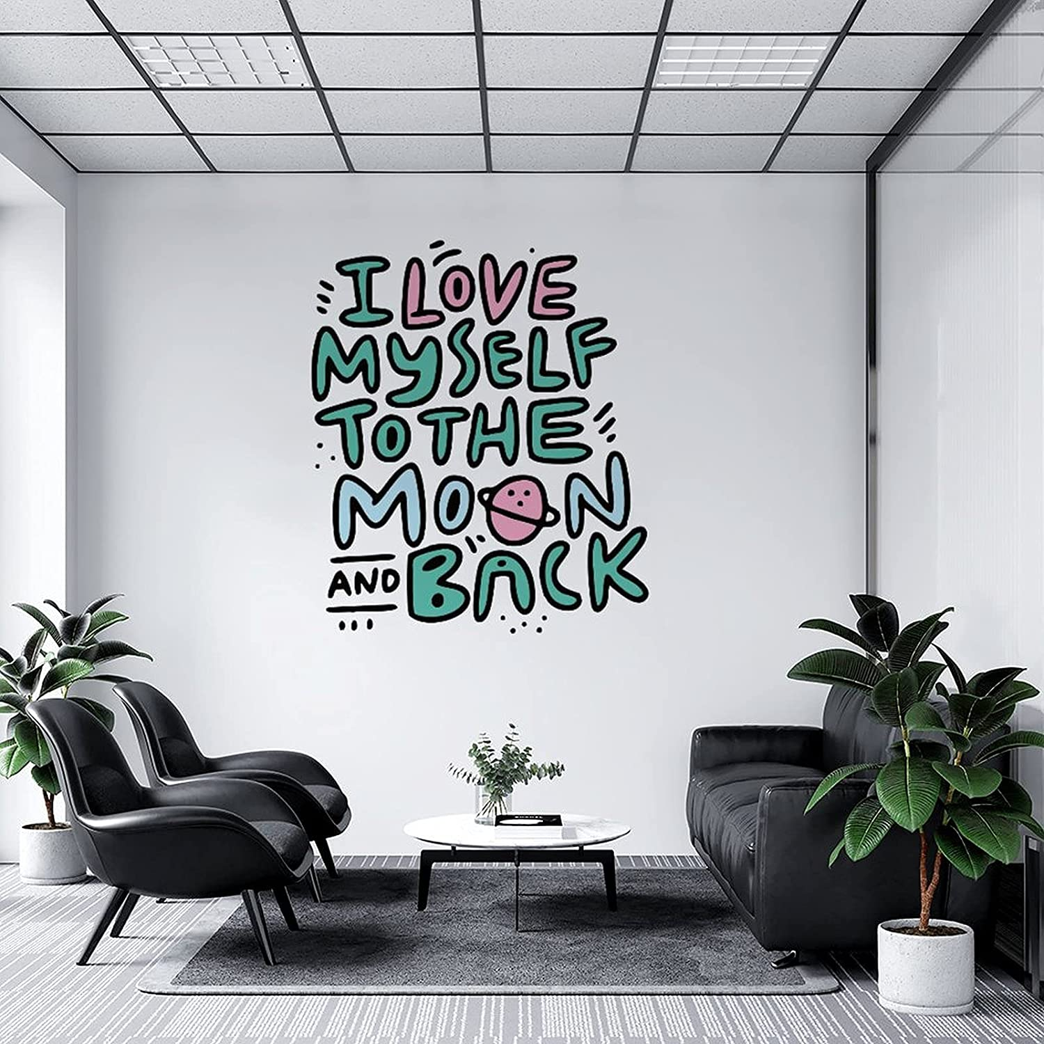 Wall Decal Louisville-Jefferson County Mall New color Ilovemyselftothemoon-Back DIY Murals Gi for Art
