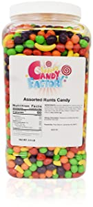 Sarah's Candy Factory Assorted Runts Candy in Jar (6.5 Lbs)