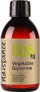 Naissance Plantaardige glycerine (glycerol) (nr. 806) 250ml - vloeibaar, 100% Eur. Ph. Kwaliteit & levensmiddelenkwalitei...