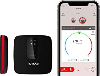 RV PetSafety Pet Environment Temperature monitor - No WiFi needed - works on 3G AT&T / T-mobile Cellular networks. Monitor pet's environment temperature in real time 24x7