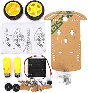 WINGONEER Smart Motor Robot Car Battery Box Chassis Kit Speed Encoder For Arduino - Two rounds