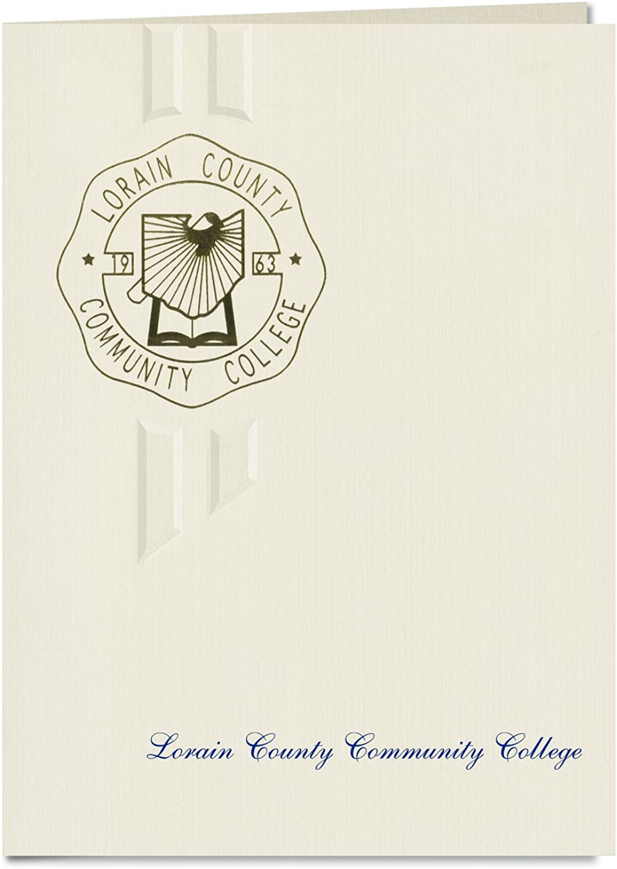 Signature Ankündigungen Lorain County Community College Graduation Ankündigungen, eleganten Stil, Elite Pack 20 mit Lorain County CC Dichtung Folie B0793MT3XJ  | Internationale Wahl