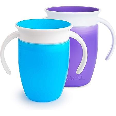 Munchkin Miracle 360 Degré bébé Trainer Cup 207 ml Vert Spill Proof