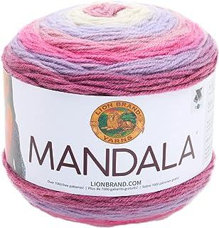 Lion Brand Yarn 525-200 Mandala Yarn, Wood Nymph,