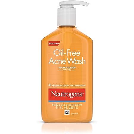 Neutrogena Acne Wash, Oil-Free, 4.2 Oz.