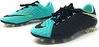 Nike Women Hypervenom Phantom 3 AG Pro Soccer Cleats Sz 8.5 Black/Aqua