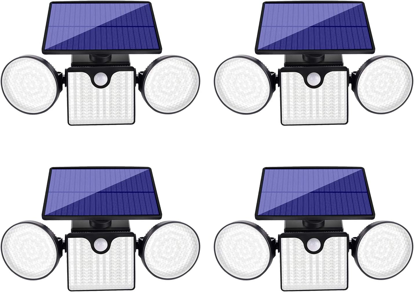 Ollivage Upgrade Weekly update Solar Motion Sensor Lights Attention brand Outdoor Heads Secu 3