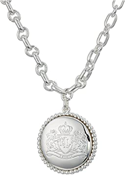 "17"" Crest Pendant Necklace"