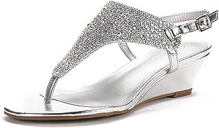 Women's Aditi Low Wedge Dress Sandals