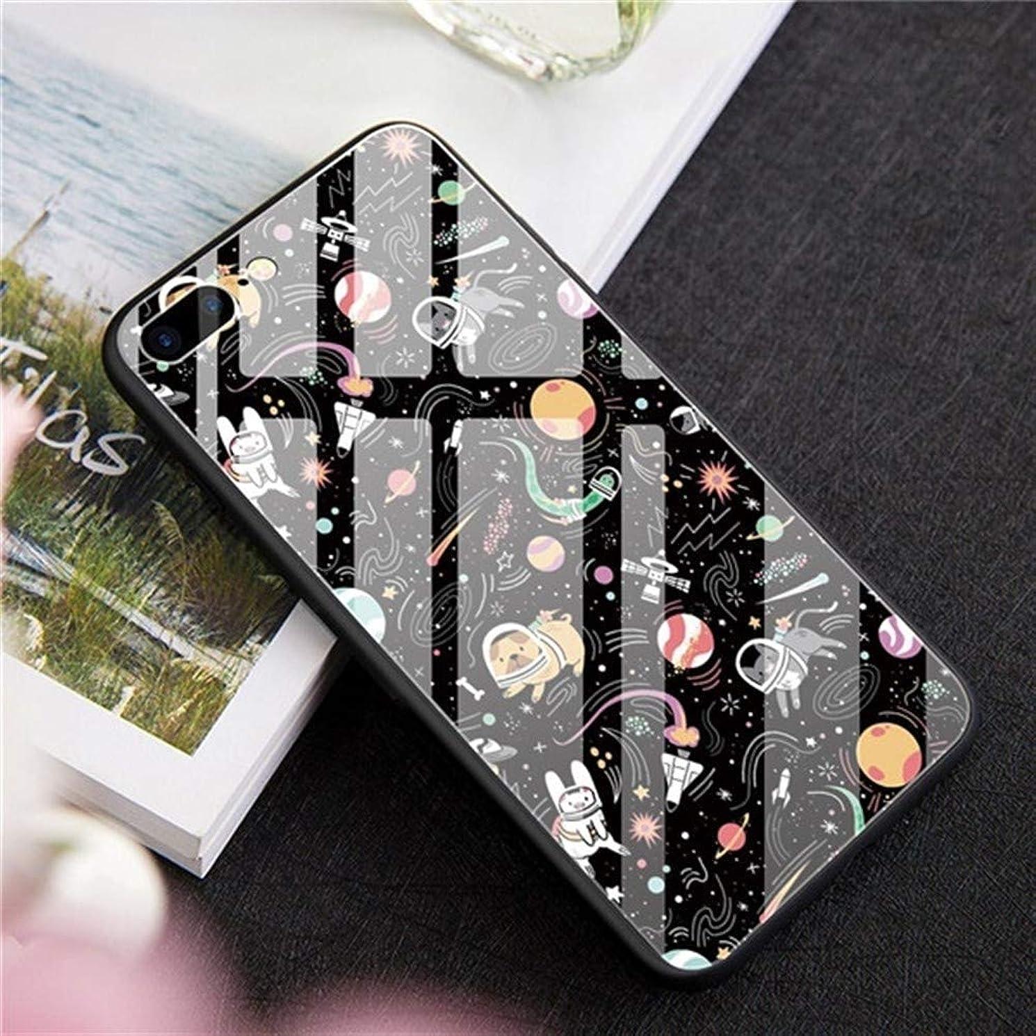 バブル溢れんばかりのくそーHEJIANLSTORE Iphoneの7 8 X 10プラス6S 6キャパスペース宇宙飛行士強化ガラスフォンケースについてはIPhone 11プロXS MAX XR場合の豪華DIY (Color : A-4415, Size : For iphone 6 6S 4.7)
