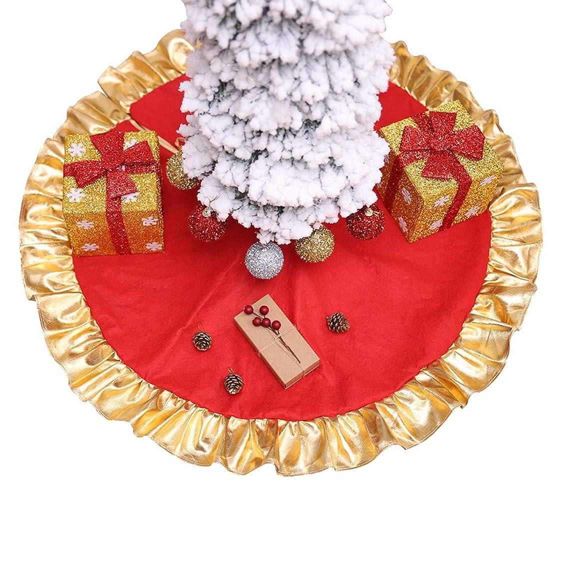 粘り強い虫を数える軍団Urhomy クリスマスツリードレス クリスマス飾り 円形 可愛いツリースカート豪華 ベースカバー オーナメント インテリア レッドプノンペン クリスマスツリースカート クリスマスツリーラウンドマットカーペット レッドプノンペンクリスマスツリードレス 90cm ツリーの装飾 カーペット敷物 メリークリスマス 新年パーティー クリスマス雰囲気