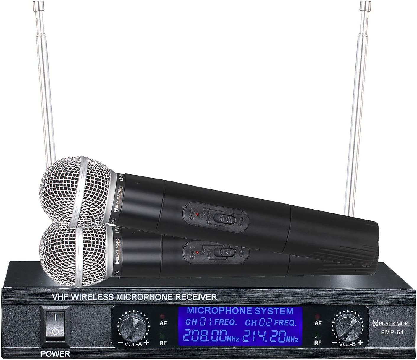 Blackmore Pro Audio Wireless 推奨 Microphone Black BMP-61 予約 System