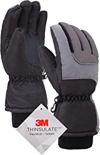 Simplity Ski Gloves - Waterproof Snowboard Snow Warm Winter Men Gloves