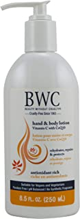 BEAUTY WITHOUT CRUELTY Beauty without cruelty hand and body lotion vitamin c, organic , 8.5 fl oz, 8.5 Fluid Ounce