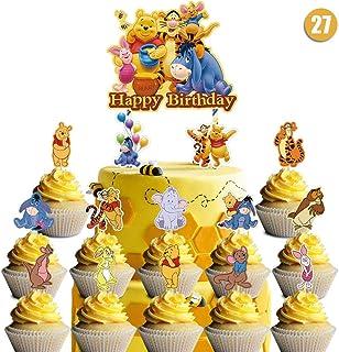 WINNIE L/'OURSON Set de décoration givrage plaquette Edible Cake Topper A4 T