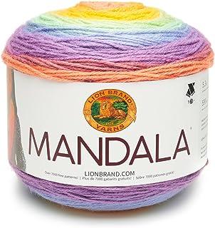 Lion Brand Yarn Company Lion Brand Hilo 525–225–Mandala, acrílico, Sprite, 13,97x 13,97x 10,16cm