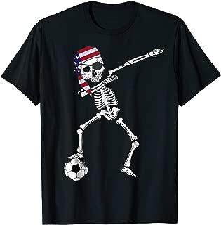 USA Pirate Patriotic Dabbing American Soccer Jersey Shirt