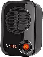 Lasko 100 MyHeat Personal Ceramic Heater, Compact, Black