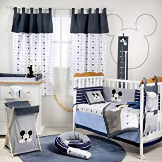 [Mickey Mouse 90] Crib Bedding Set (4PC Bedding Set + 1 x Hamper)