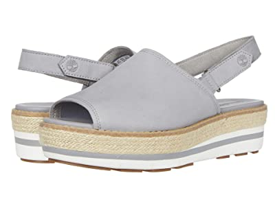 Timberland Emerson Point Sandal (Medium Grey Full Leather) Women