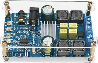 Bluetooth Amplifier Board, DROK Digital Amplifier Wireless BT 3.0 4.0 4.1 Audio Amp Board Headphone 2 Channel 50W+50W Bluetooth Speaker Board Small Amplifier Module with Case