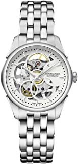 Hamilton JazzMaster Silver Dial S. Steel Automatic Ladies Watch H32405111