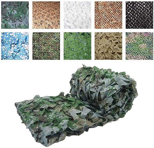 ZLZMC Filet de Camouflage pour Camping, Camouflage Militaire, Chasse, Pare-Soleil en Tissu Oxford 6  6m(19.6  19.6ft)