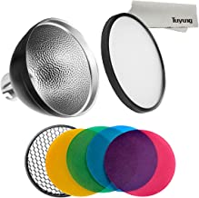 Godox AD-S2 Standard Reflector with Soft Diffuser and ad-s11 Witstro Flash Speedlite Accessories for Godox AD200 AD200PRO AD360 AD360II Flashes