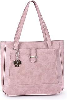 Butterflies Women's Handbag (Peach) (BNS BS008PCH)