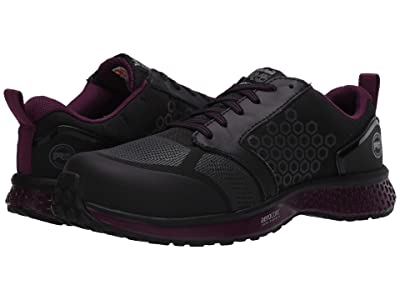 Timberland PRO Reaxion Composite Safety Toe (Black/Purple) Women