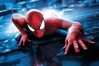 Verbazingwekkende Spider-man Fotobehang Custom Super Hero Wallpaper 3d Muurschildering Kinderen Jongens Slaapkamer Woonkam...