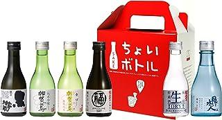 福光屋 ちょいボトルBOX 180mL 6種各1本 オリジナル特別純米酒 [ 日本酒 石川県 180ml×6本 ] [ギフトBox入り]