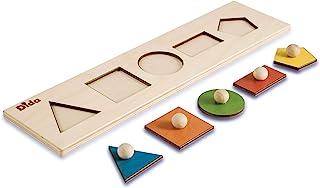 MagiDeal Giocattoli Di Legno Incastri Delle Forme Montessori