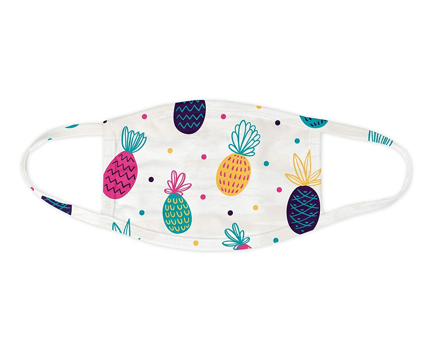 Colorful Pineapple Face Bombing free shipping Washable Milwaukee Mall Mask Covering