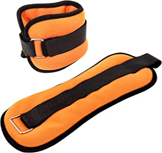 Yetudo Ankle/Wrist Weights, Adjustable Arm Leg Exercise Wraps for Women Men and Kids. Wrist Straps Weight for Home Workout Lifting Fitness, Walking, Jogging, Gymnastics, Aerobics, Gym (2 Pack)