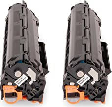 Kit 2x Toner Compatível 435 436 285 para impressora