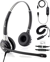 $124 » Premium Double Ear Headset with Ultra Noise Canceling Mic with USB & HIS Cable for Avaya IP 1608, 1616, 9601, 9608, 9611, 9611G, 9620, 9621, 9630, 9631, 9640, 9641, 9650, 9670, J139, J169 and J179